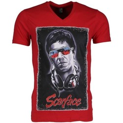 Kleidung Herren T-Shirts Local Fanatic Scarface Rot