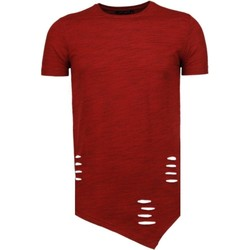 Kleidung Herren T-Shirts Tony Backer Long Rot