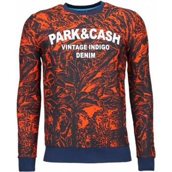 Kleidung Herren Sweatshirts Bn8 Black Number Park&Cash Orange Orange