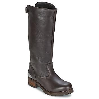 Schuhe Damen Klassische Stiefel Love Moschino JA26094 Schwarz