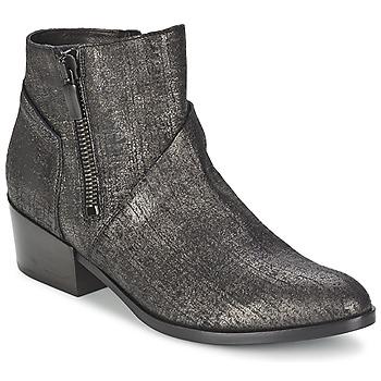 Schuhe Damen Low Boots Janet&Janet VILLIA Schwarz