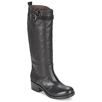 Schuhe Damen Klassische Stiefel Now PRINCE Schwarz
