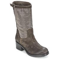 Schuhe Damen Klassische Stiefel Now DOUREL Grau
