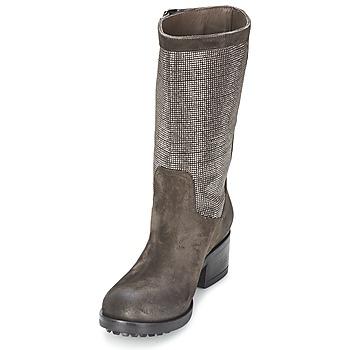 Now DOUREL Grau - Kostenloser Versand |  - Schuhe Klassische Stiefel Damen 22896