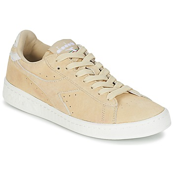 Schuhe Damen Sneaker Low Diadora GAME LOW SUEDE Beige