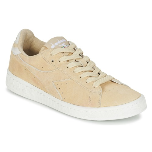 Diadora GAME LOW SUEDE Beige Schuhe Sneaker Low Damen 45