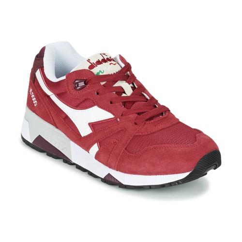 Diadora N9000 III Rot Schuhe Sneaker Low 62,50