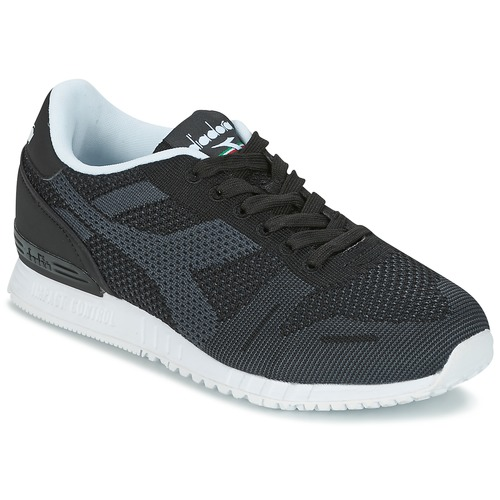 Diadora TITAN WEAVE Schwarz Schuhe Sneaker Low 50