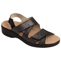 Schuhe Damen Sandalen / Sandaletten Weeger Sandale Art.15200 schw.met