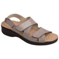 Schuhe Damen Sandalen / Sandaletten Weeger Sandale Art.15200 grau met