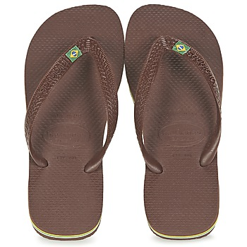 Schuhe Zehensandalen Havaianas BRASIL Braun