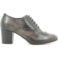 Schuhe Damen Richelieu Mally 5092 Lace-up heels Frauen Grau Grau