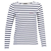 Kleidung Damen Tops / Blusen Betty London FLIGEME Weiss / Blau