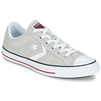 Schuhe Sneaker Low Converse STAR PLAYER CORE CANVAS OX Grau / Weiss