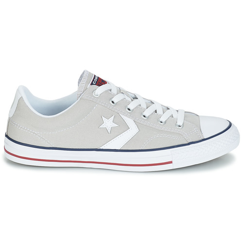 Converse STAR PLAYER CORE Weiss CANVAS OX Grau / Weiss CORE  Schuhe Sneaker Low Herren 63,95 0eac91