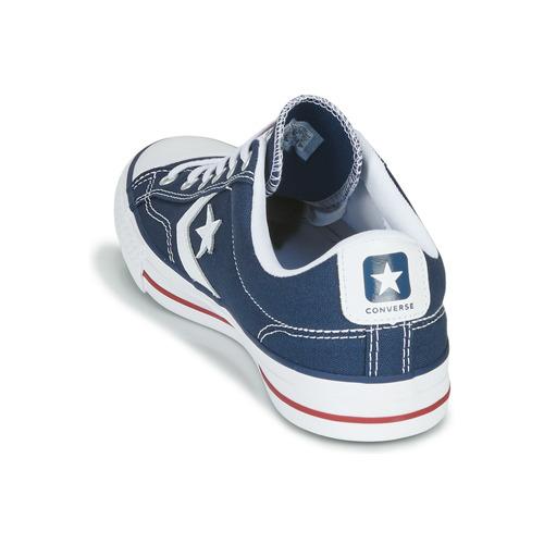 Converse STAR PLAYER CORE CANVAS OX OX OX Marine / Weiss  Schuhe Sneaker Low  63,95 47b689
