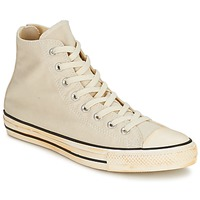 Schuhe Sneaker High Converse Chuck Taylor All Star VINTAGE WASHED BACK ZIP TWILL HI Naturfarben