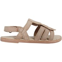 Schuhe Mädchen Sandalen / Sandaletten Cheiw 47115 Beige