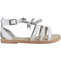 Schuhe Mädchen Sandalen / Sandaletten Cheiw 47116 Blanco