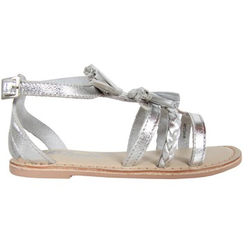 Schuhe Mädchen Sandalen / Sandaletten Cheiw 47118 Blanco