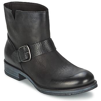 Schuhe Damen Boots Café Noir ROSAS Schwarz