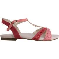 Schuhe Mädchen Sandalen / Sandaletten Cheiw 47077 Rosa