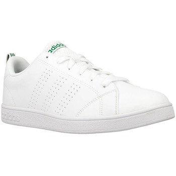 Schuhe Herren Sneaker Low adidas Originals VS Advantage Weiß-Grün