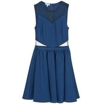 Kleidung Damen Kurze Kleider Brigitte Bardot BB45080 Blau
