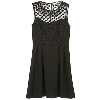 Kleidung Damen Kurze Kleider Brigitte Bardot BB45057 Schwarz