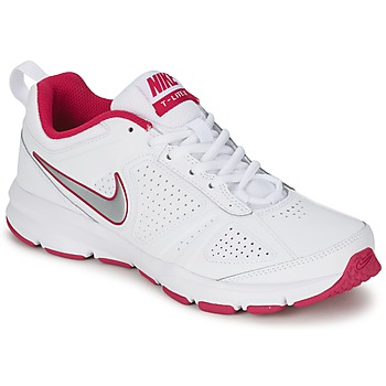 Schuhe Damen Multisportschuhe Nike T-LITE XI Weiss / Rose