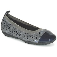 Schuhe Mädchen Ballerinas Geox JR PIUMA BALLERINE Grau