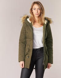 Kleidung Damen Parkas Moony Mood HADDY Kaki