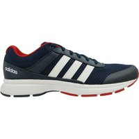 Schuhe Herren Sneaker Low adidas Originals Cloudfoam VS City Dunkelblau-Rot-Weiß