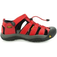 Sandalen / Sandaletten Keen Newport H2 Youth Ribbon Red Gargoyle