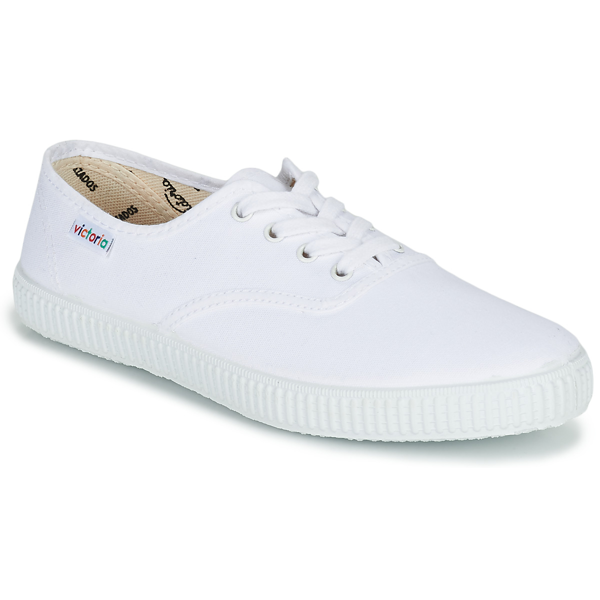 Victoria INGLESA LONA Weiss - Kostenloser Versand bei Spartoode ! - Schuhe Sneaker Low  23,20 €