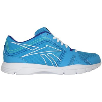 Schuhe Damen Sneaker Low Reebok Sport Trainfusion RS Blau