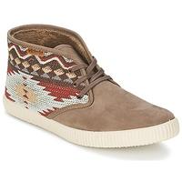 Schuhe Damen Sneaker High Victoria SAFARI TEJIDOS ETNICOS Maulwurf