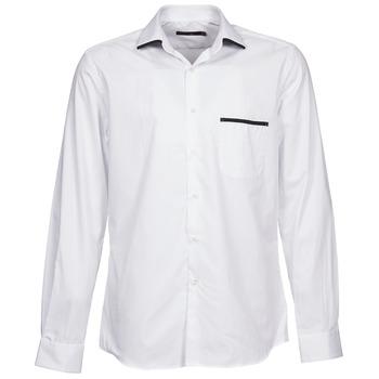 Kleidung Herren Langärmelige Hemden Pierre Cardin ANTOINE Weiss