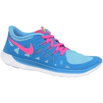Schuhe Jungen Sneaker Low Nike Free 50 GS Rosa