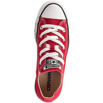 Schuhe Damen Sneaker Low Converse Chuck Taylor All Star OX Rot