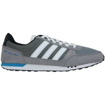 Schuhe Herren Sneaker Low adidas Originals City Racer Grau