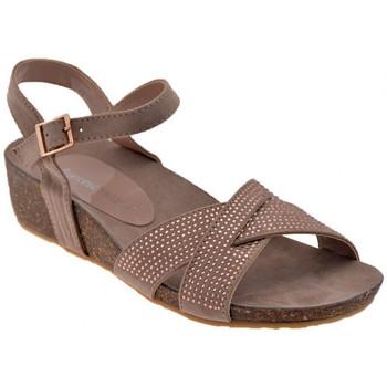 Schuhe Damen Sandalen / Sandaletten F. Milano H154TAnatomicasandale Grau