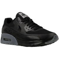 Schuhe Damen Sneaker Low Nike W Air Max 90 Ultra Essential Grau-Schwarz