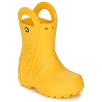 Schuhe Kinder Gummistiefel Crocs HANDLE IT RAIN BOOT KIDS Gelb