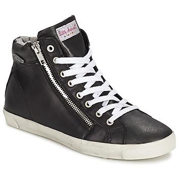 Schuhe Damen Sneaker High Little Marcel PRATIK Schwarz