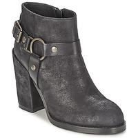 Schuhe Damen Low Boots Ash FALCON Schwarz