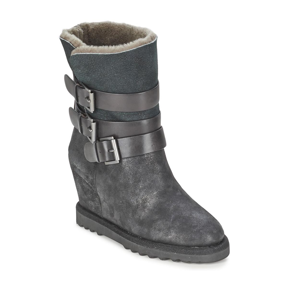 Ash YES Schwarz - Kostenloser Versand bei Spartoode ! - Schuhe Low Boots Damen 124,50 €