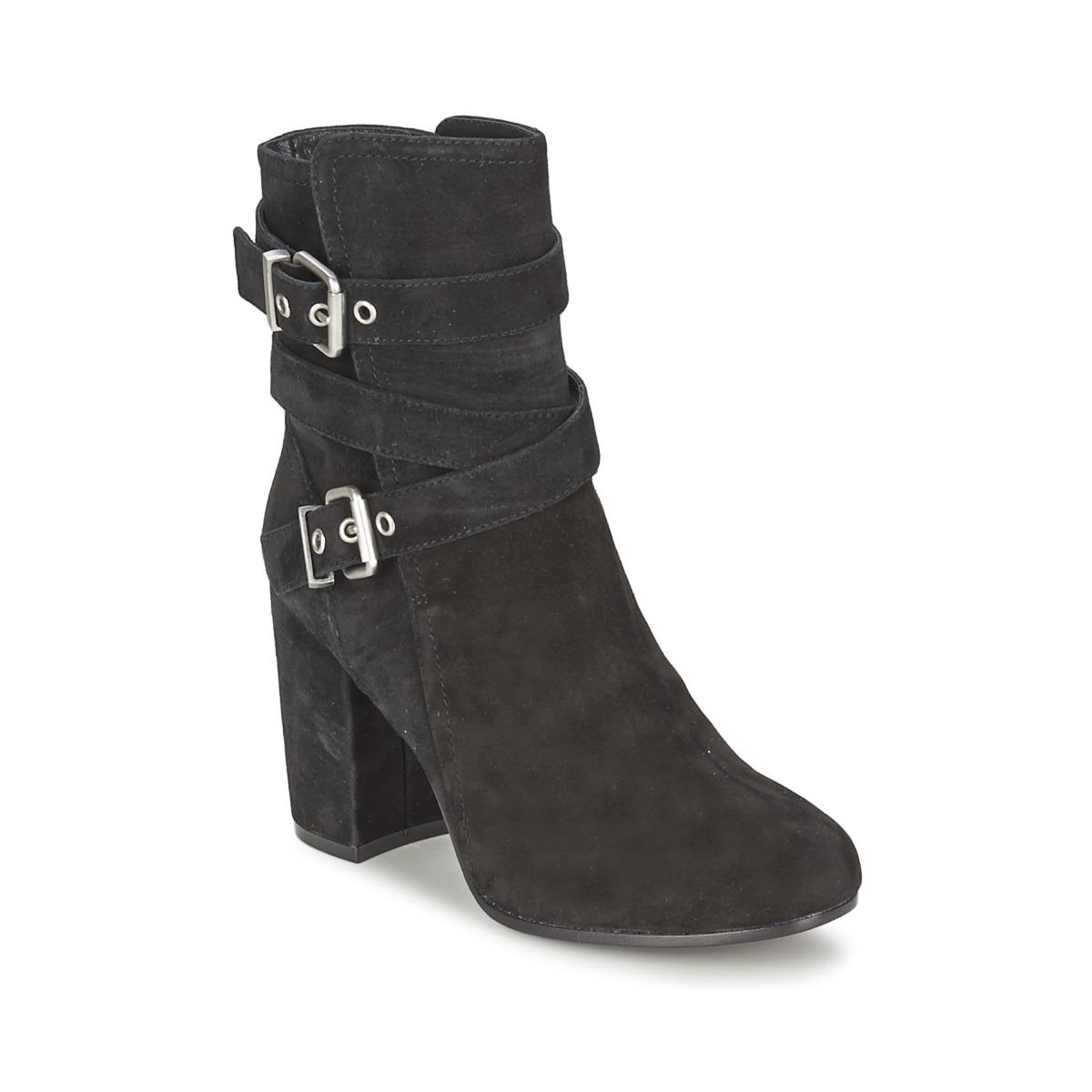 Ash FARGO Schwarz - Kostenloser Versand bei Spartoode ! - Schuhe Low Boots Damen 119,50 €