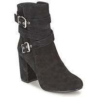 Schuhe Damen Low Boots Ash FARGO Schwarz