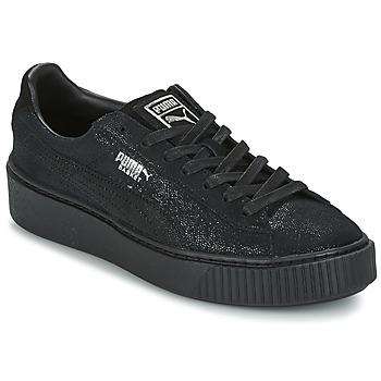 Schuhe Damen Sneaker Low Puma PUMA PLATFORM RESET WN'S Schwarz